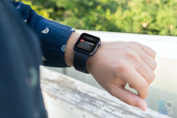 Как удалить все уведомления Apple Watch на watchOS 7 и новее