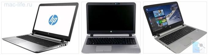 HP ProBook 450 G3 хакинтош
