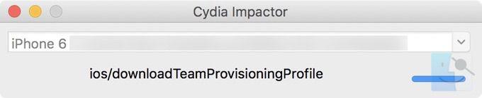 Cydia Impactor начнет загрузку приложения для джейлбрейка unc0ver