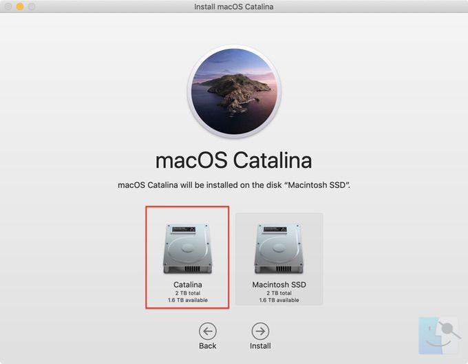 Как запустить Mojave и Catalina на одном Mac