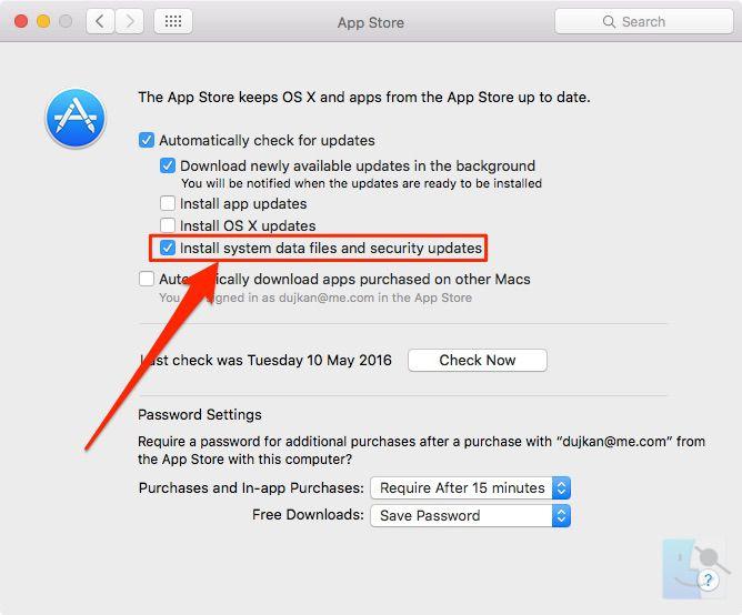 upgrade notification high sierra