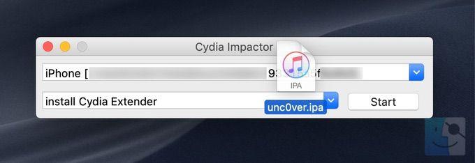 Загрузите Cydia Impactor на свой компьютер и запустите его