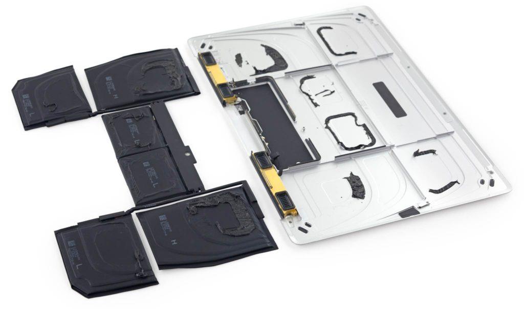 террасные батареи в MacBook 2015