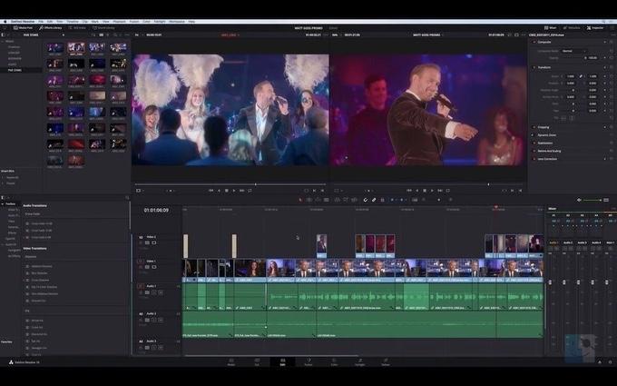 DaVinci Resolve бесплатный видеоредактор