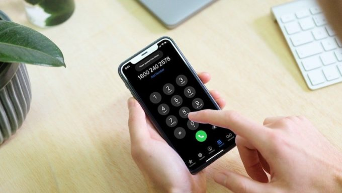 Как вставить телефонные номера в телефонное приложение iPhone