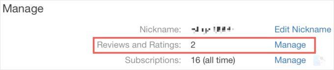 Управление рейтингами и отзывами в Mac App Store
