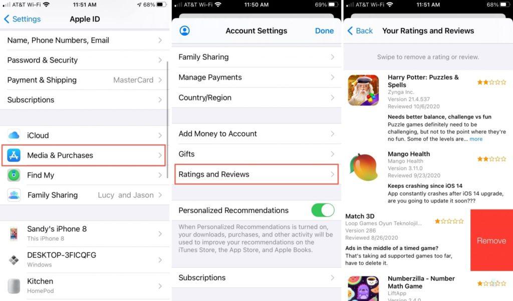 СМИ и покупки рейтинги и обзоры в App Store