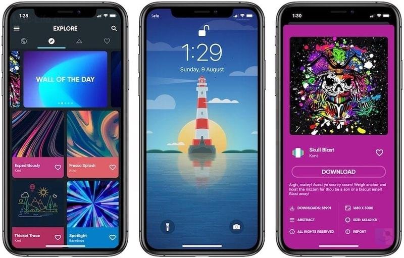 приложений для обоев для iphone xr