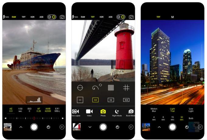 Скриншоты ProCam 6 профессионального приложения для камеры для вашего iPhone