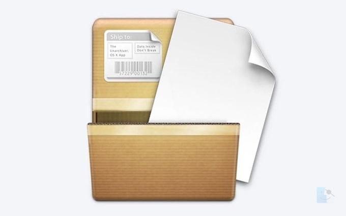 Unarchiver архиватор для MACOS