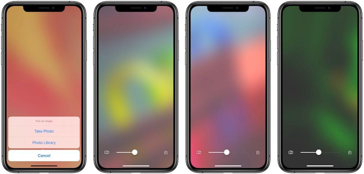 Blear - Градиентные обои для iPhone