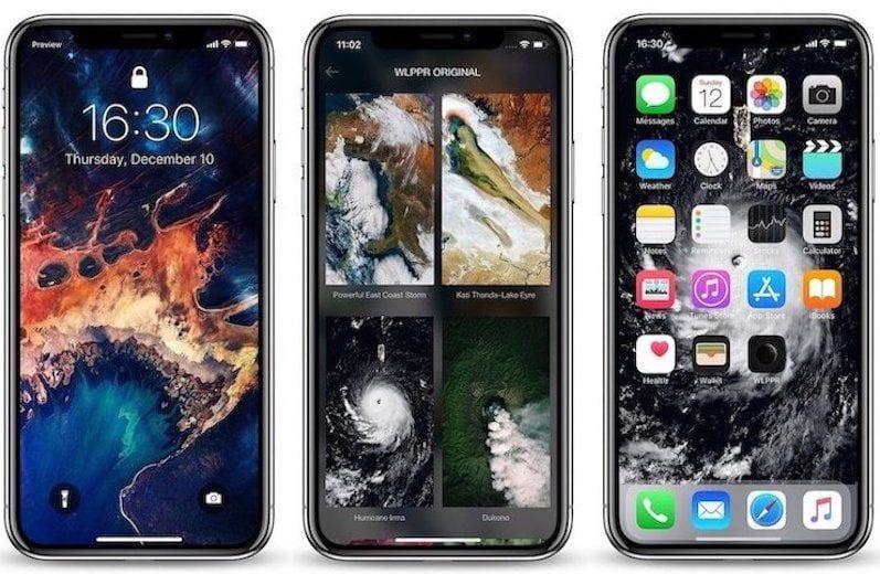 3. WLPPR - лучшие приложения для обоев для iPhone