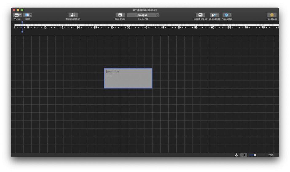 2. Окончательный вариант 11 - приложение для написания экрана для Mac