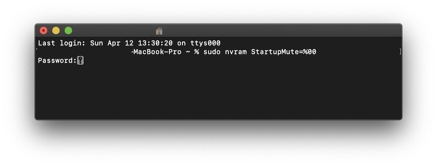 Включите звуковой сигнал при запуске Mac на macOS Catalina 3