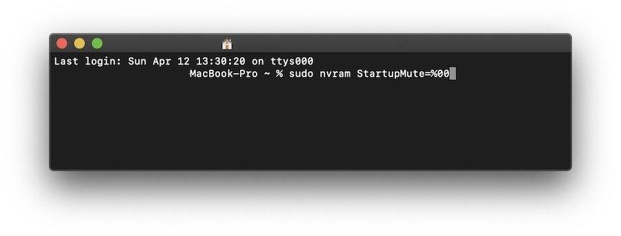 Включите звуковой сигнал при запуске Mac на macOS Catalina 2