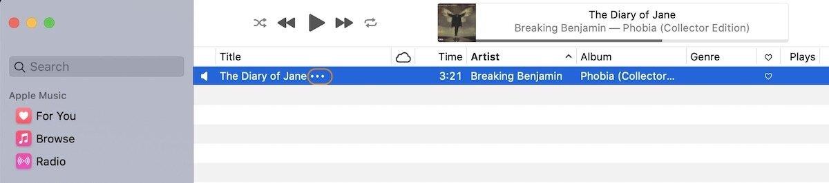 Как добавить собственный текст к песням в Apple Music