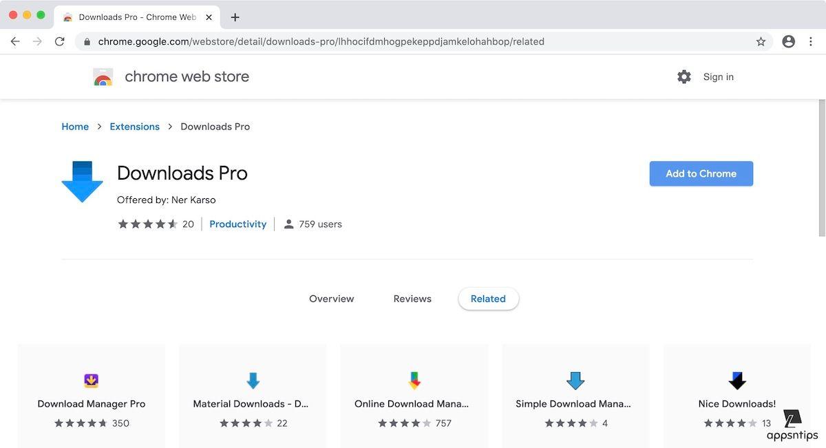 Как получить Safari Like Download Manager в Google Chrome
