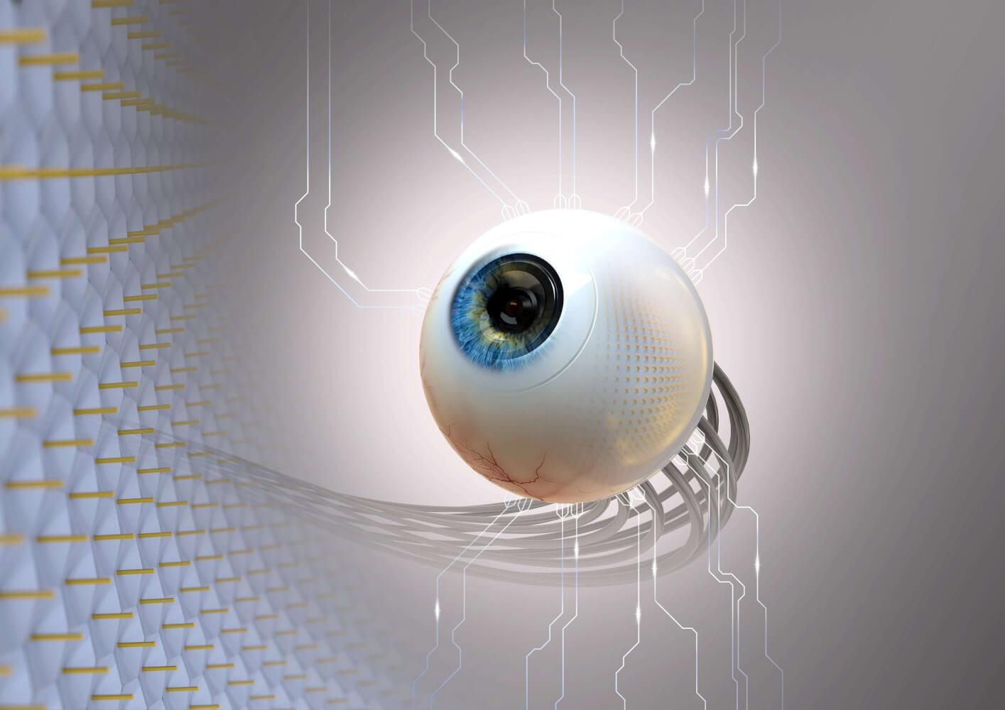Разработан искусственный глаз, умеющий различать буквы и видеть в темноте