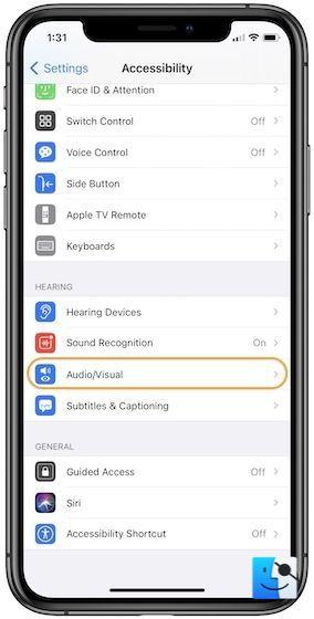 Как использовать вспышку iPhone для уведомлений
