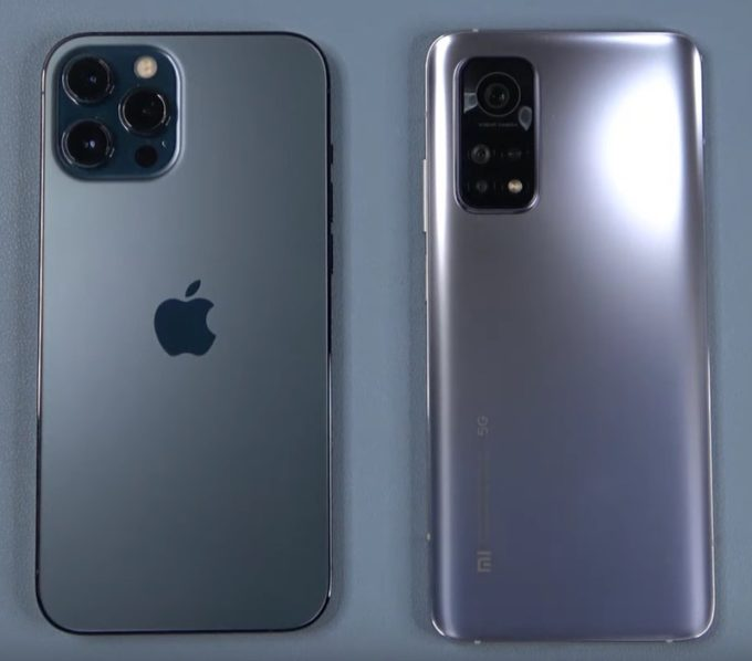 Сравнение Iphone 12 и Xiaomi Mi 10 pro